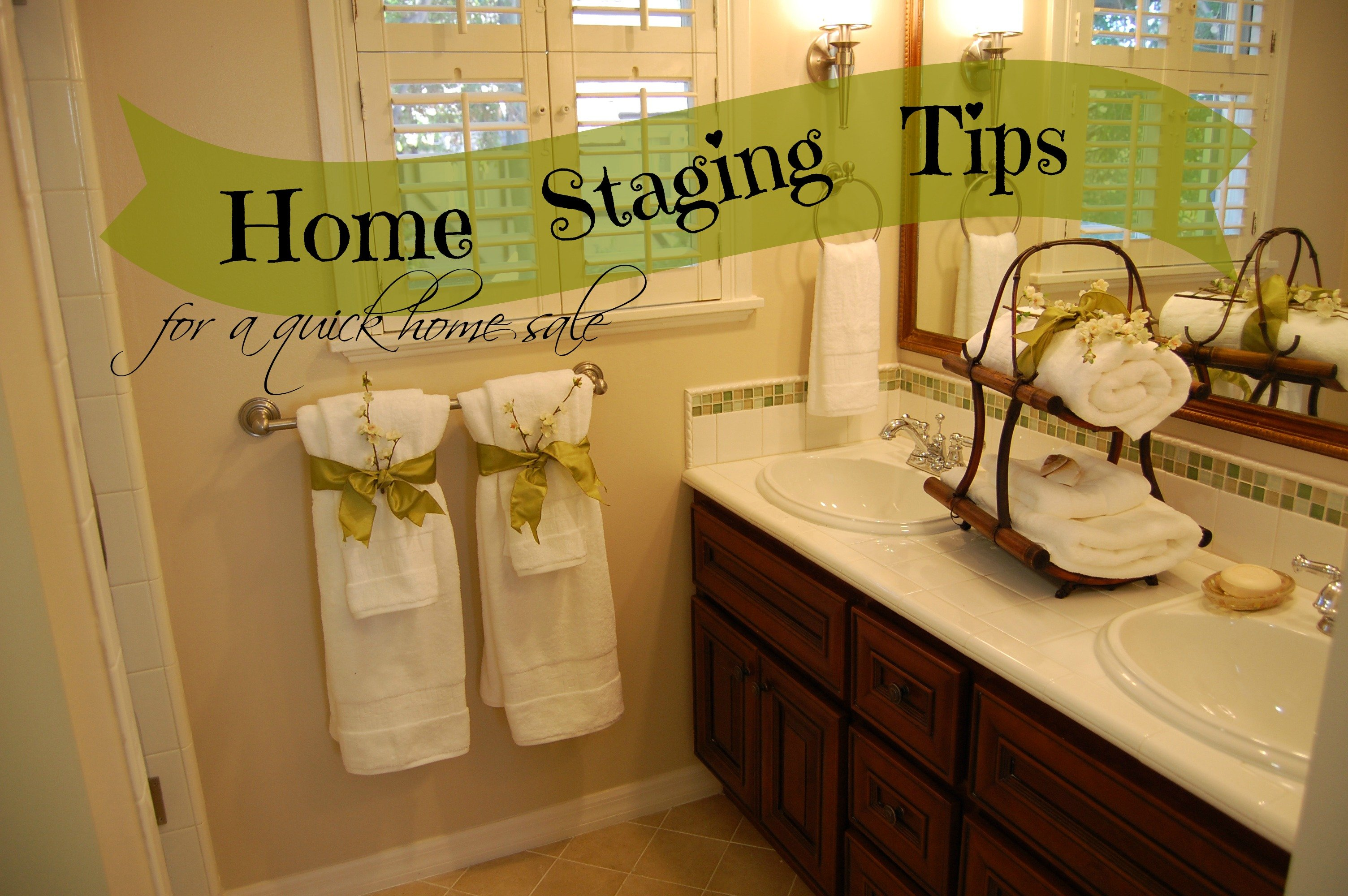 Home staging tips for a quick home sale colorado springs for Decorating house for sale