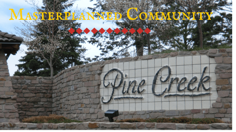 Masterplanned Community Pine Creek in Colorado Springs.
