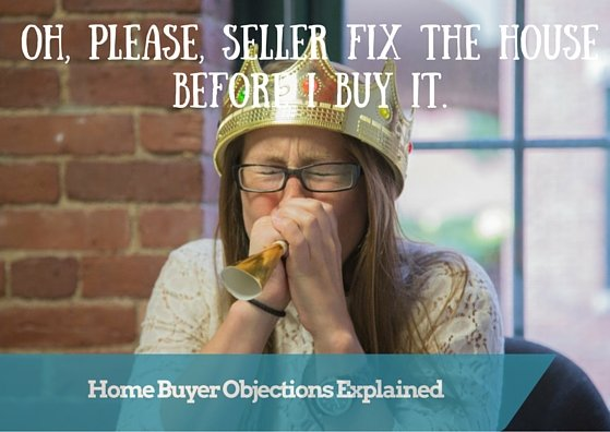 Oh, please, Seller fix my house!