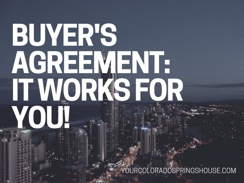 Buyers agreement to sign or not to sign colorado springs real buyers agreement real estate platinumwayz