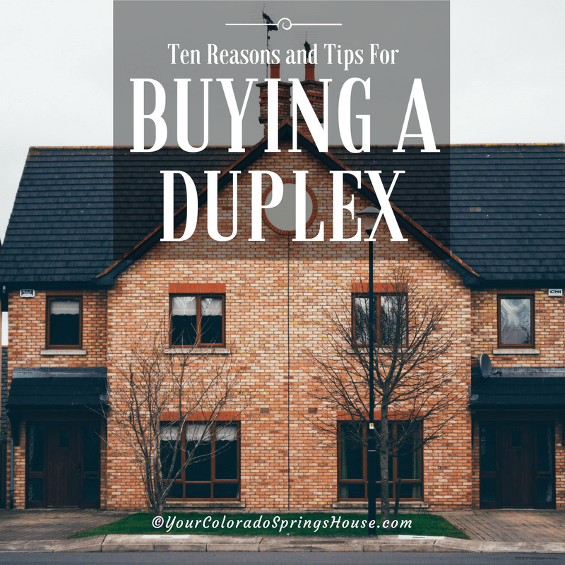 tips for buying a duplex
