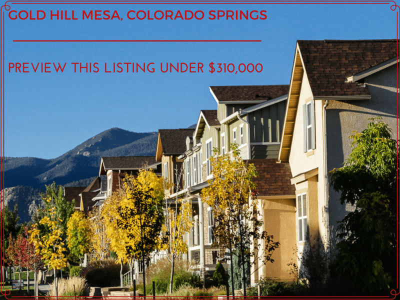 gold hill mesa for sale