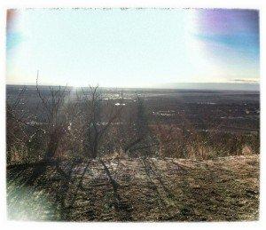 top of Chutes at High Drive Colorado Springs