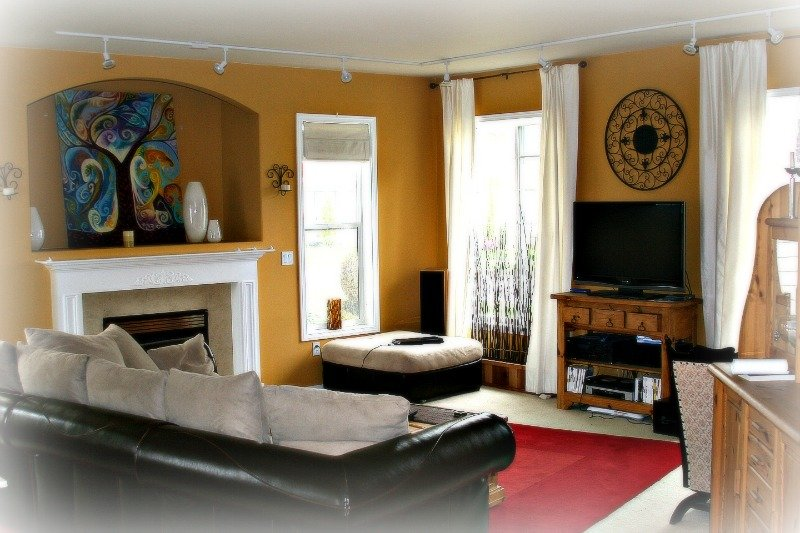 Picture of living room area