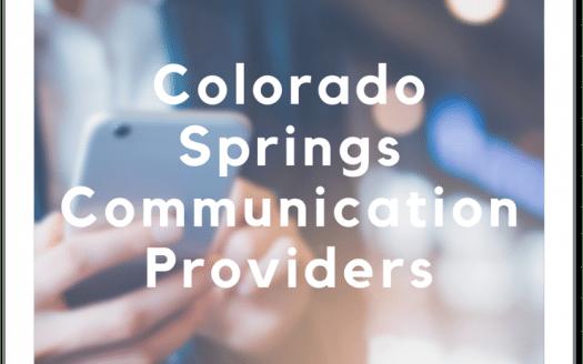 Colorado Springs Communication Providers caption