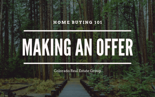 Picture of a wooden bridge leading into the woods with the caption Home Buying 101 Making an Offer