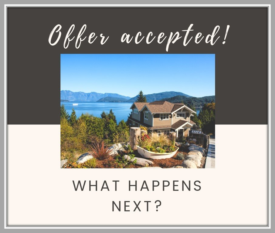 Offer accepted? What happens next?
