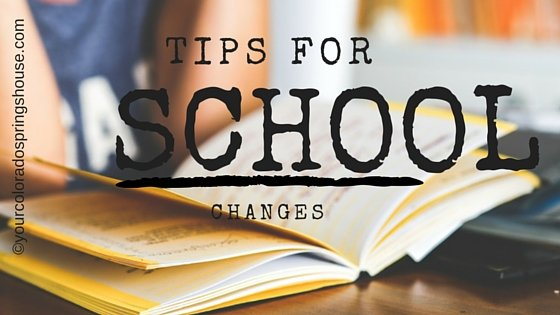 tips for changing schools