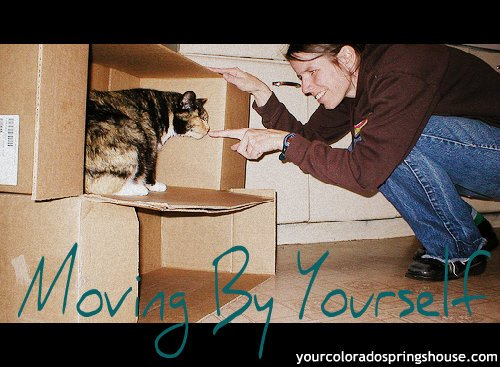 Moving by yourself