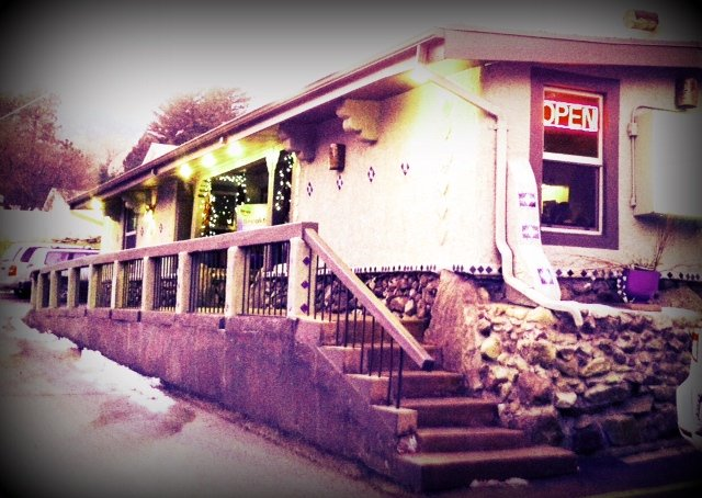 Picture of the exterior of Crystal Park Cantina in Manitou Springs