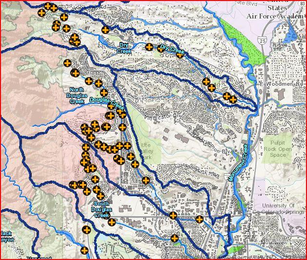 floodrisk map colorado springs