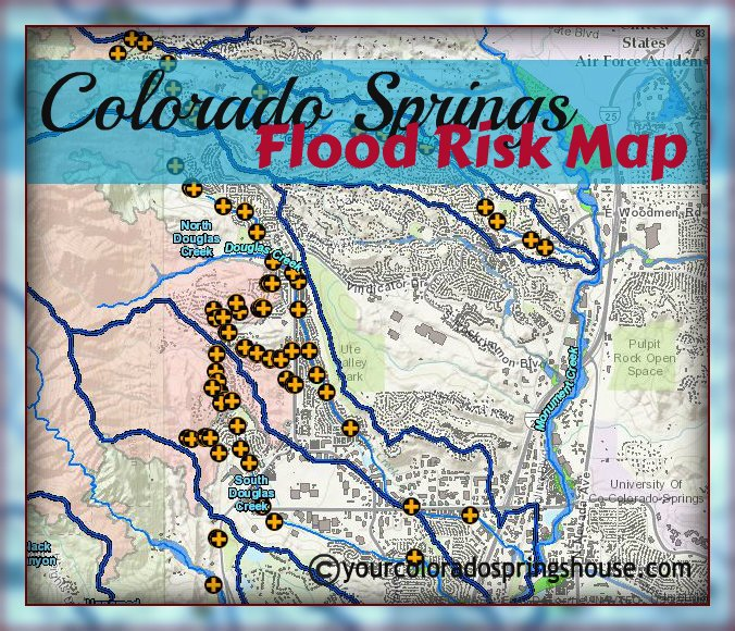 colorado springs flood risk map