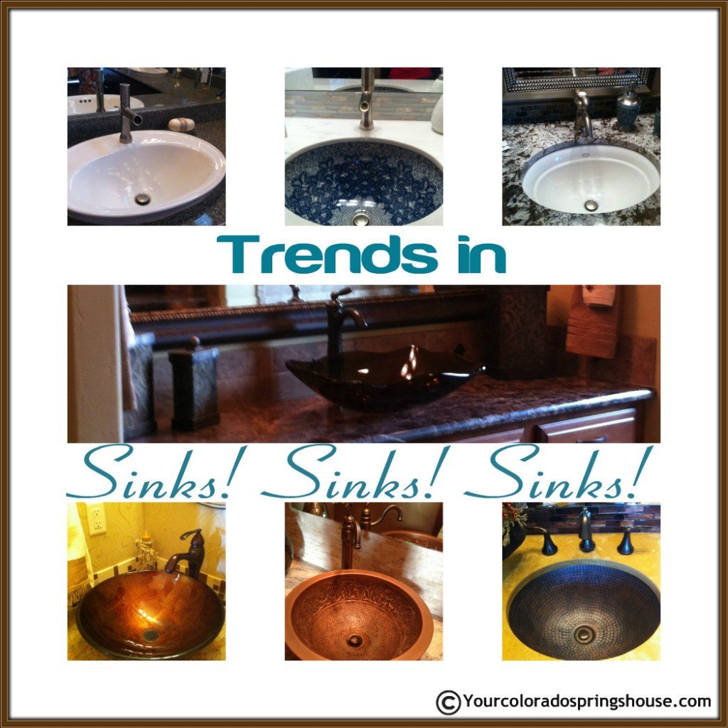 Parade of Homes sink trends