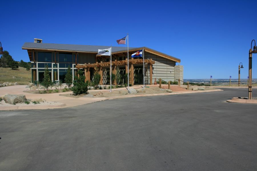 Cheyenne Mountain State Park visitor Center