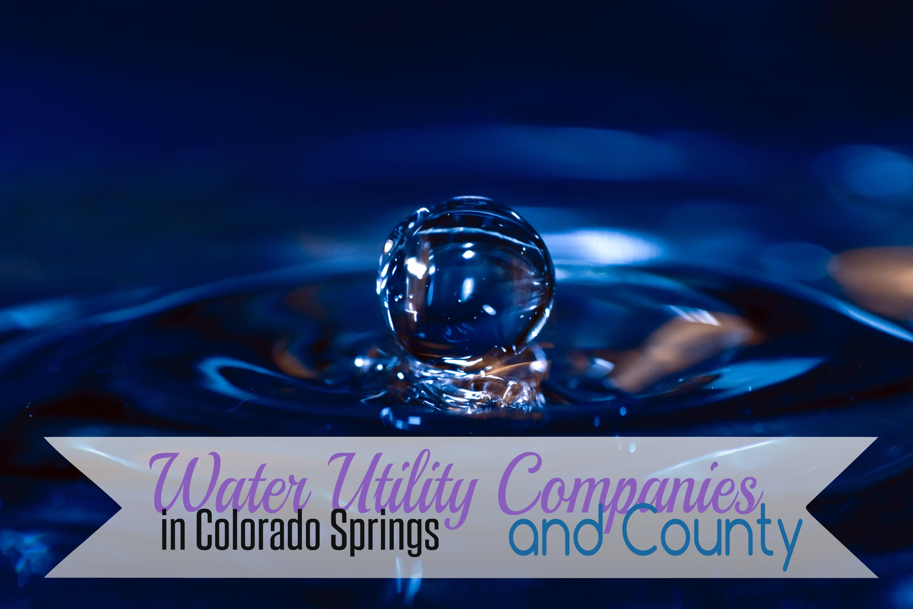 Water utilities company colorado springs