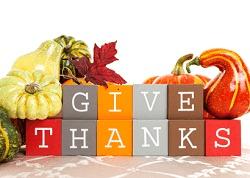 Happy Thanksgiving in Colorado Springs
