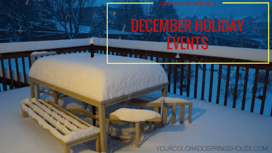 COLORADO SPRINGS HOLIDAY EVENTS