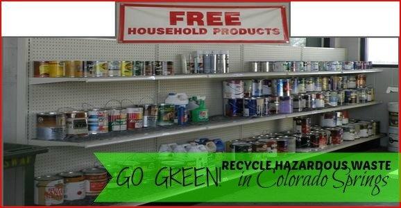 Hazardous Waste recycling in Colorado Springs