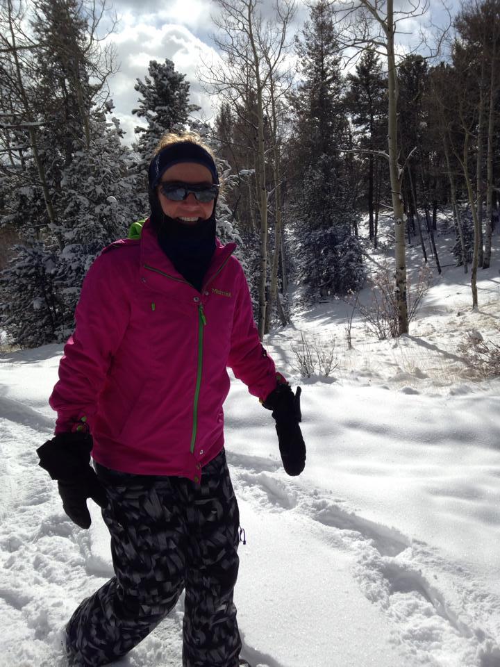 Snowshoeing in Mueller State Park