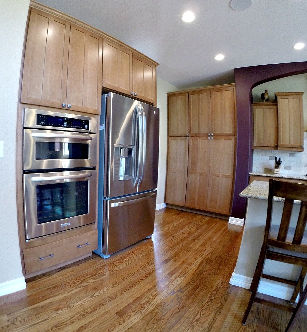 Picture of kitchen in a house for sale in the Cheyenne Mountain area of Colorado Springs