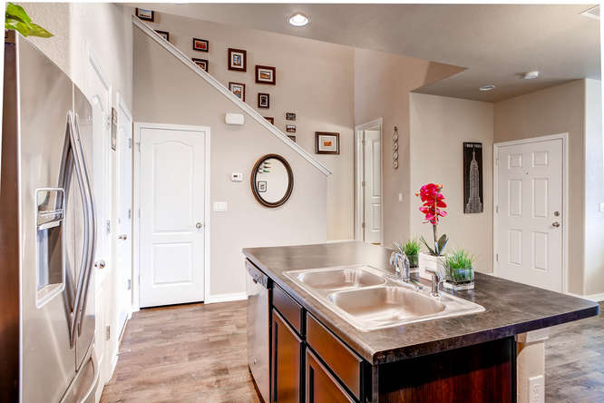 Picture of kitchen looking into staircase of 1831 Portland Gold Dr Colorado Springs CO 80905