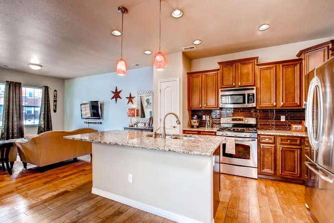 gold hill mesa townhome for sale- gourmet kitchen