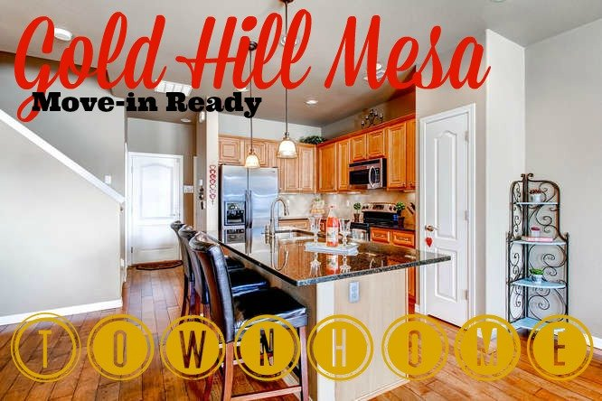 GOld Hill Mesa townhome for sale