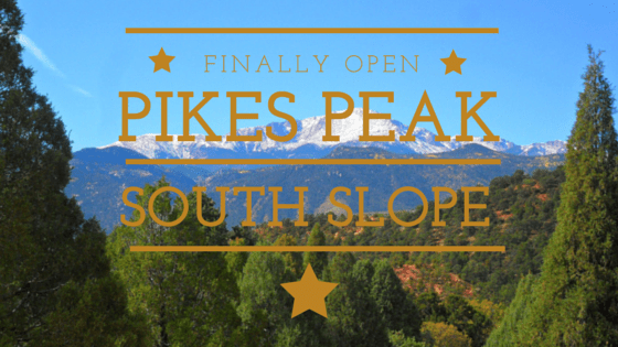 pikes peak south slope open