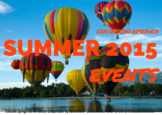 Colorado Springs Summer Events