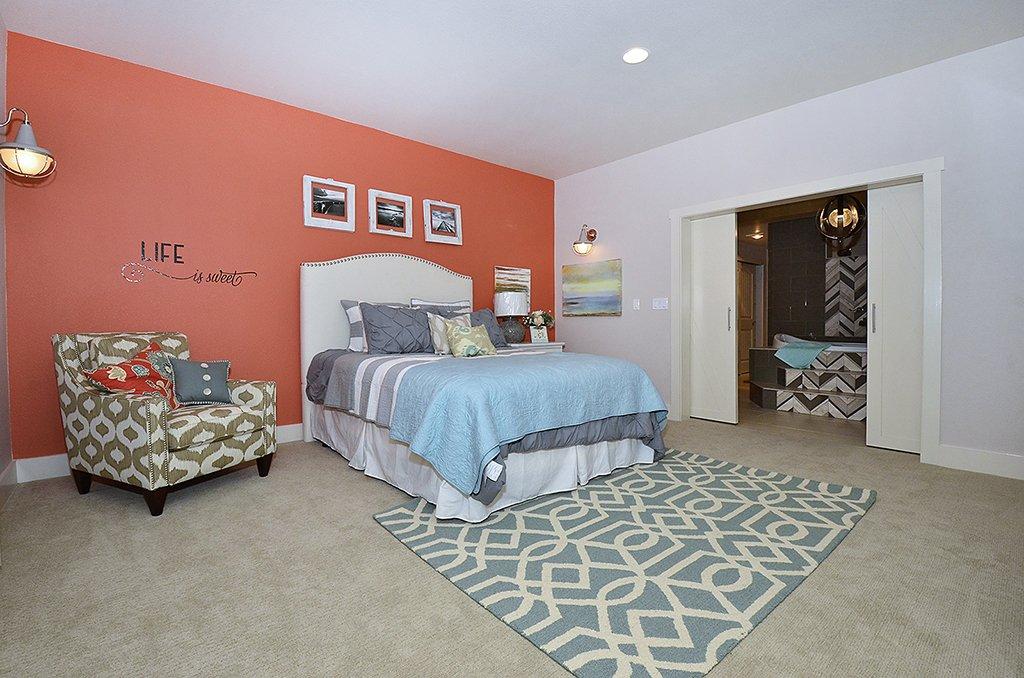 2nd master bedroom basement