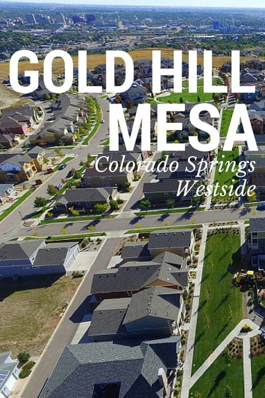 Gold Hill Mesa Colorado Springs Westside