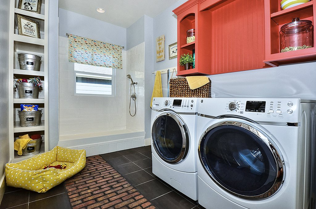Picture of laundry room with pet shower/mud room in 1602 Gold Hill Mesa Dr Colorado Springs CO