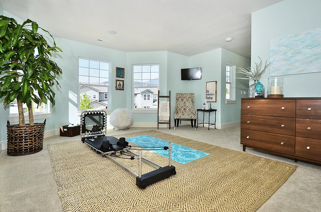 Picture of Loft/workout room in 1602 Gold Hill Mesa Dr in Colorado Springs CO