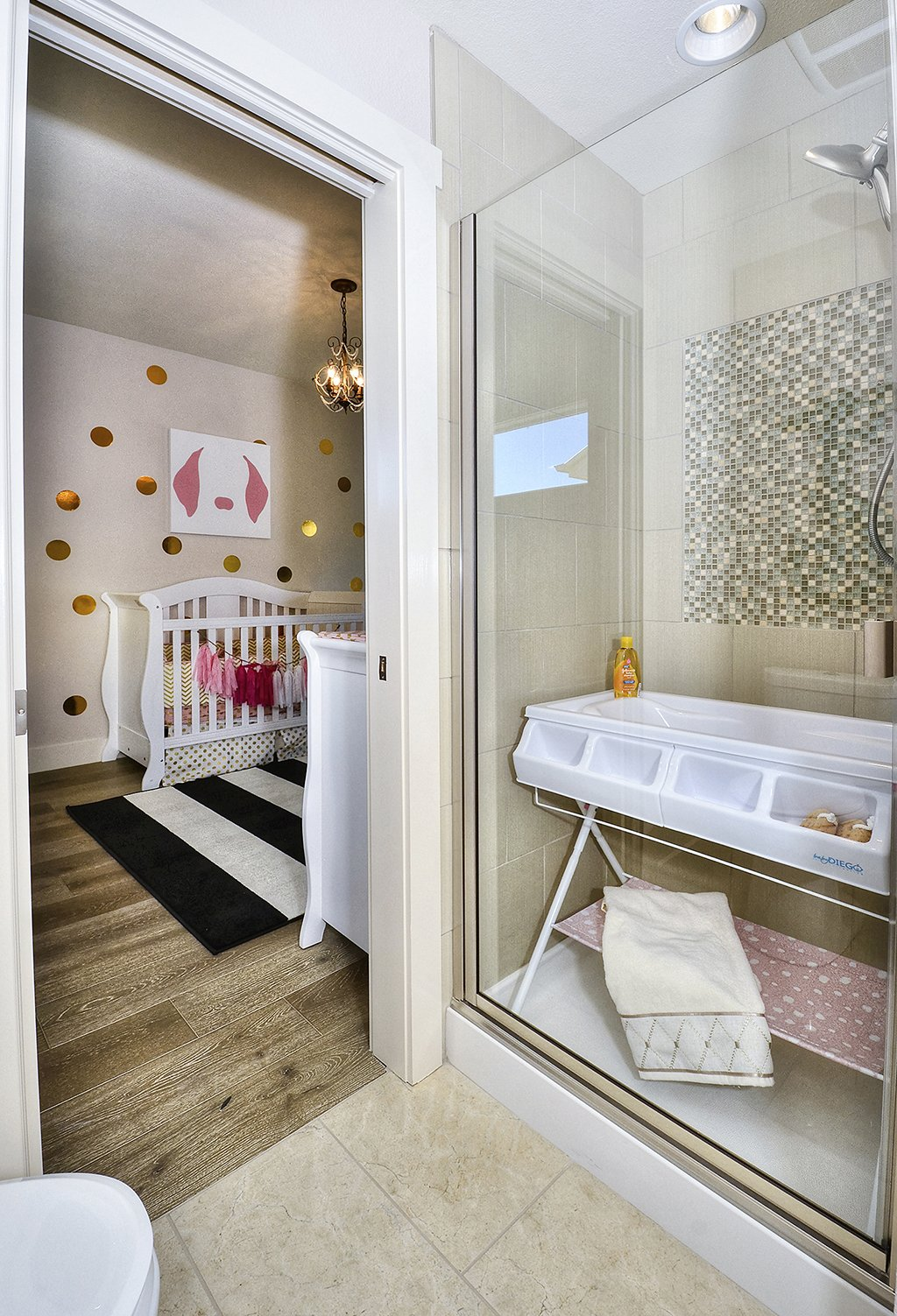 Picture of baby's room in 1602 Gold Hill Mesa Dr Colorado Springs CO