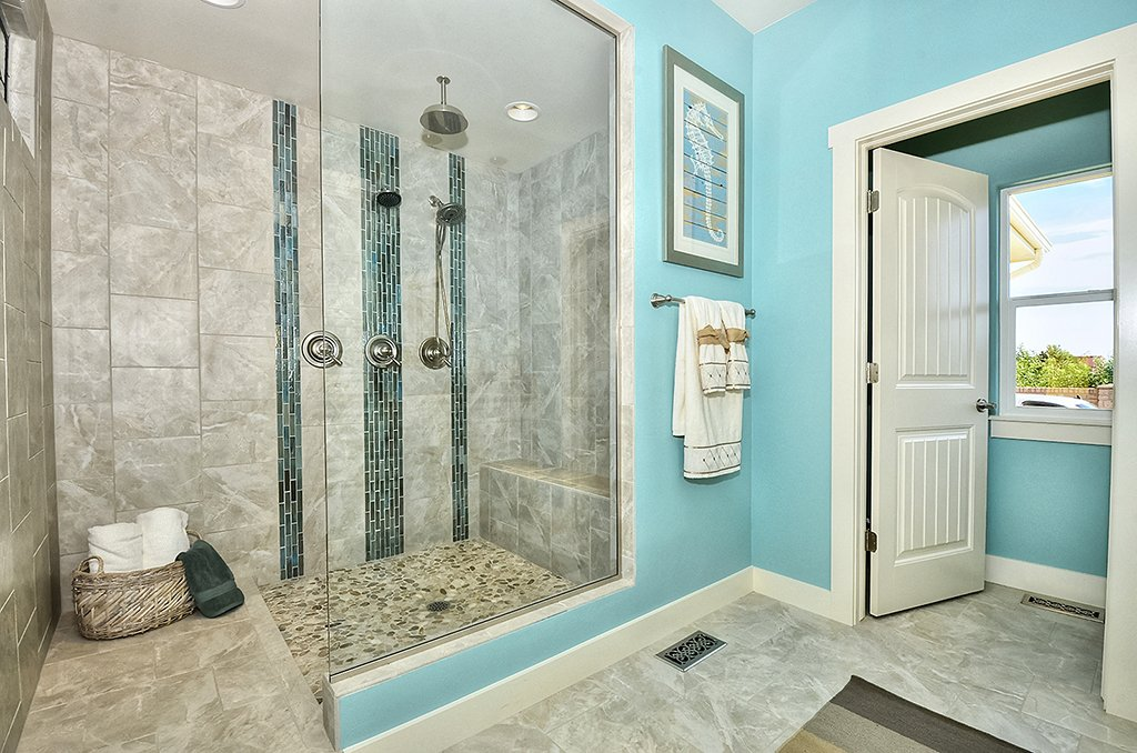 Picture of master bathroom shower area in 1602 Gold Hill Mesa Dr in Colorado Springs