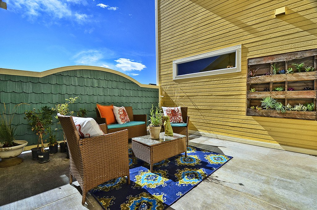 Picture of patio area 1602 Gold Hill Mesa Dr Colorado Springs CO