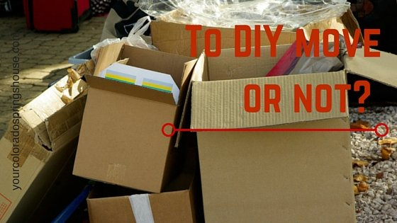 To DIY move or not