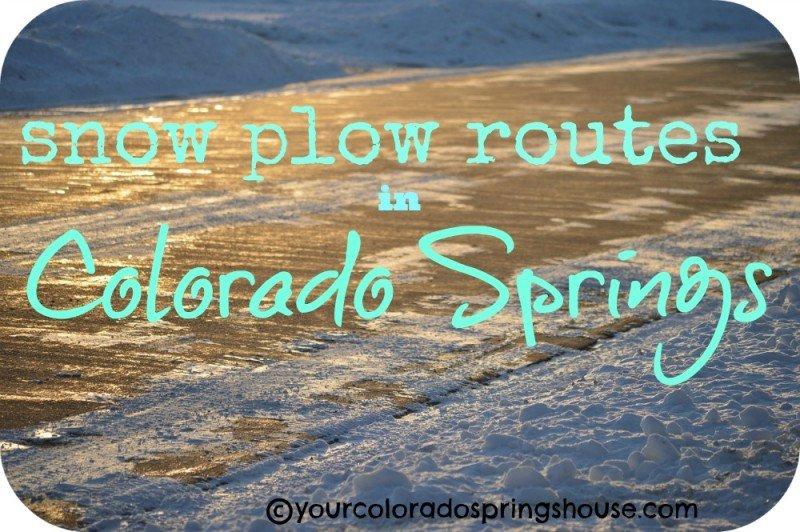 snow plow routes map colorado springs