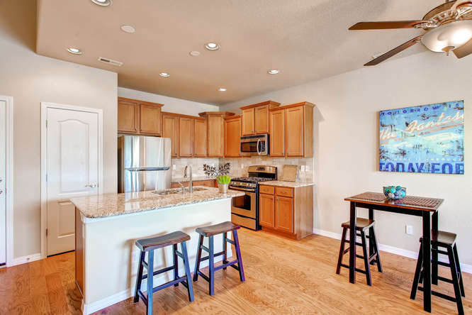 Picture of kitchen & dining area in 1621 Gold Hill Mesa Drive in Colorado Springs