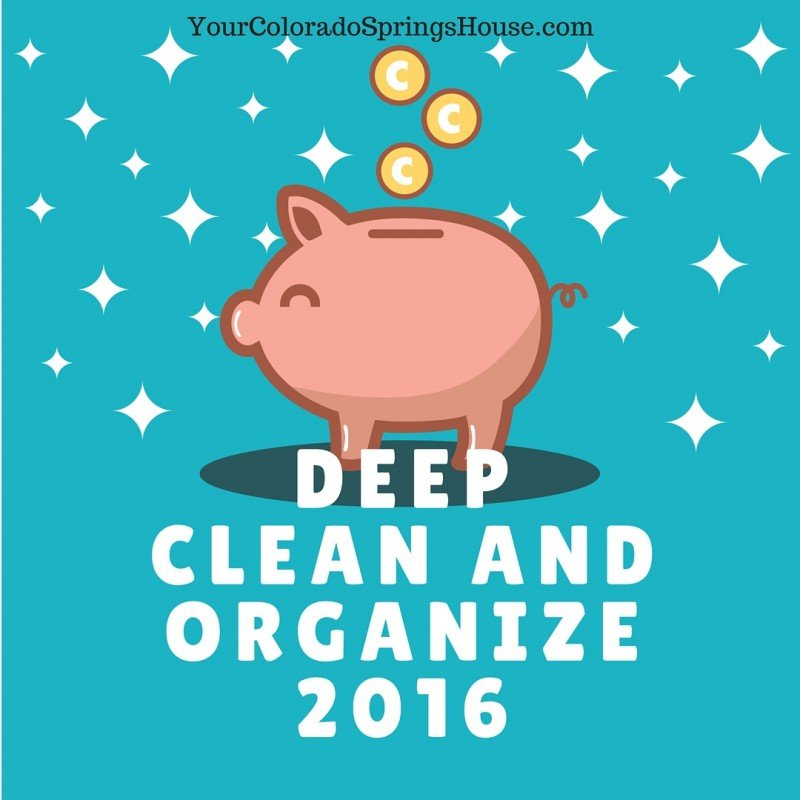 Deep clean and organize