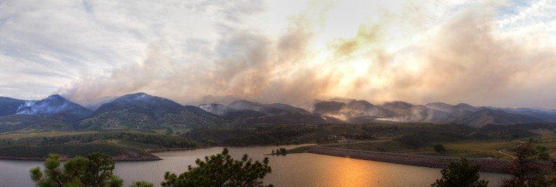 High Park Fire in Colorado 2012