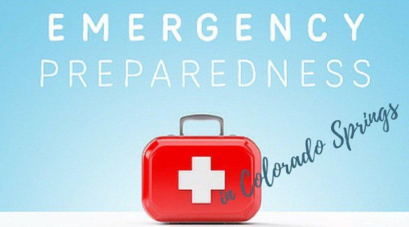 Emergency preparedness Colorado springs