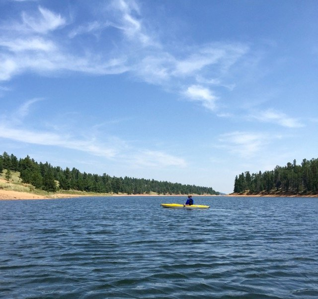 kayaking on pikes peak