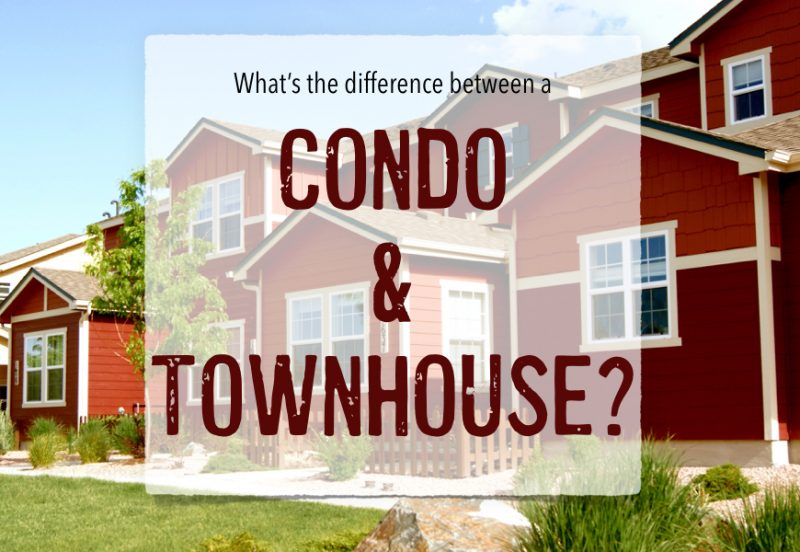 condo or townhouse