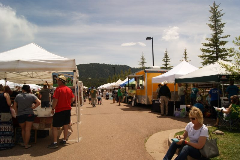 The Farmer's Market is in a temporary location this year off the highway. Next year it returns to Memorial Park.