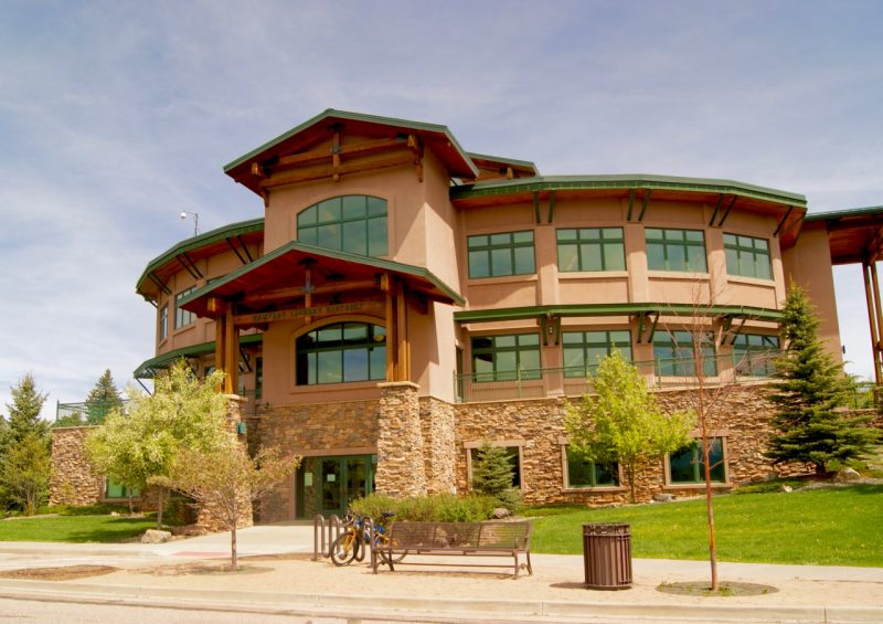 Woodland Park has one of the nicest libraries, even compared to Colorado Springs!