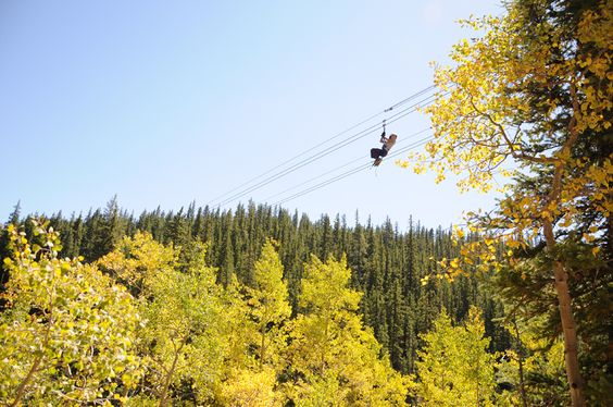 Top Of The Rockies Zipline, Leadville
