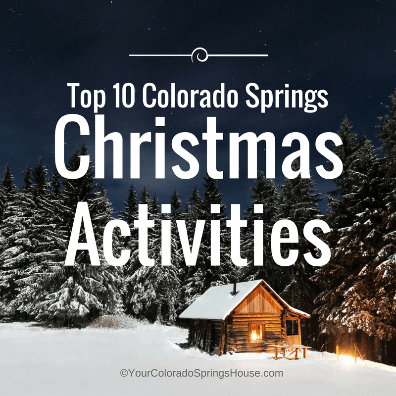 Top 10 Colorado Springs Christmas Activities {Updated for 2020
