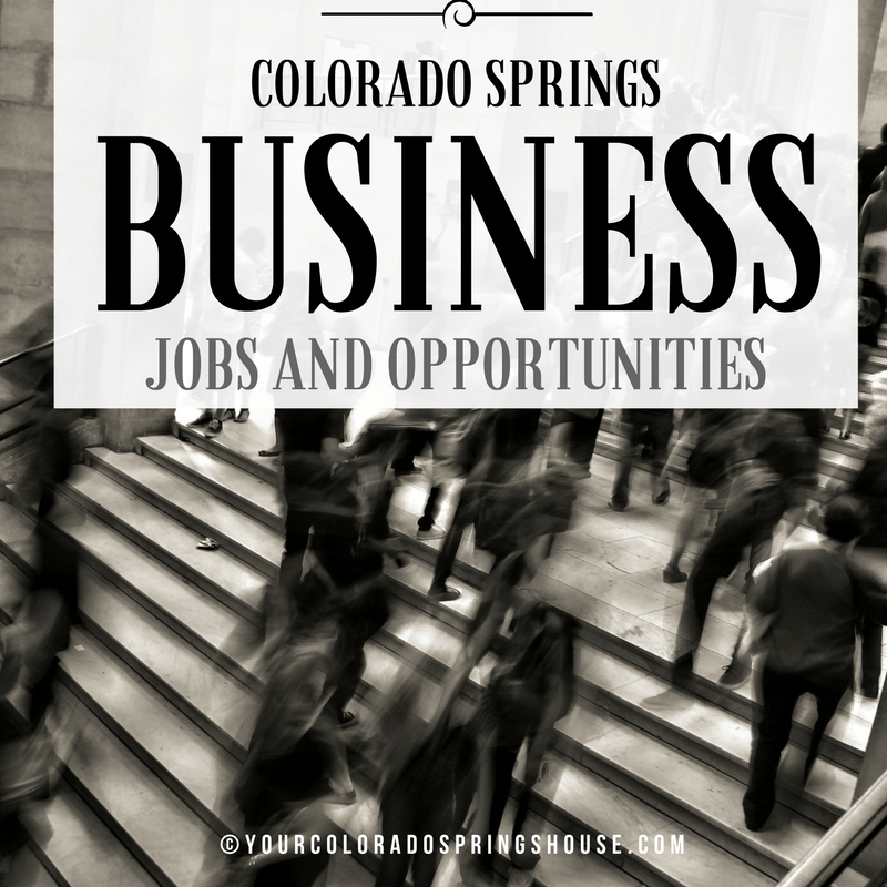 Colorado Springs business jobs and opportunities