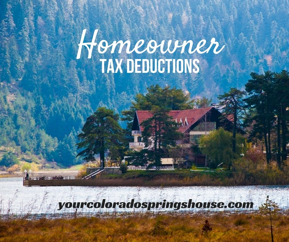 Homeowner Tax Deductions